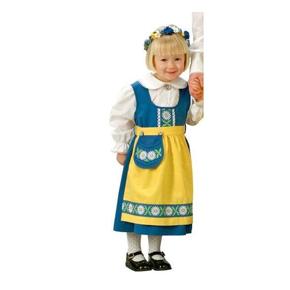 b989ea48471 Lycks Sverigeklänning 80-164 - Reko Barn