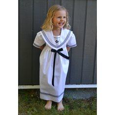 bbb587c4a7ab Lycks · Sjömansklänning Vit. 598 kr. Lycks Sverigeklänning 80-164