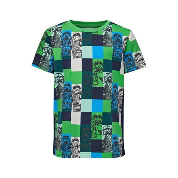 64506f897 T-Shirt 110-140 Tiger 111 Grön