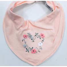 Name It Bib Rosa Blommor