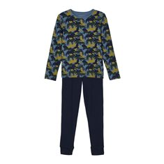 Name It Pyjamas 80-140 Nkmnightsuit Djur Blå