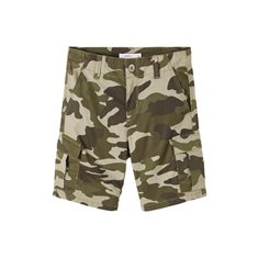 Name It Shorts 116-152 Nkmryan Camo
